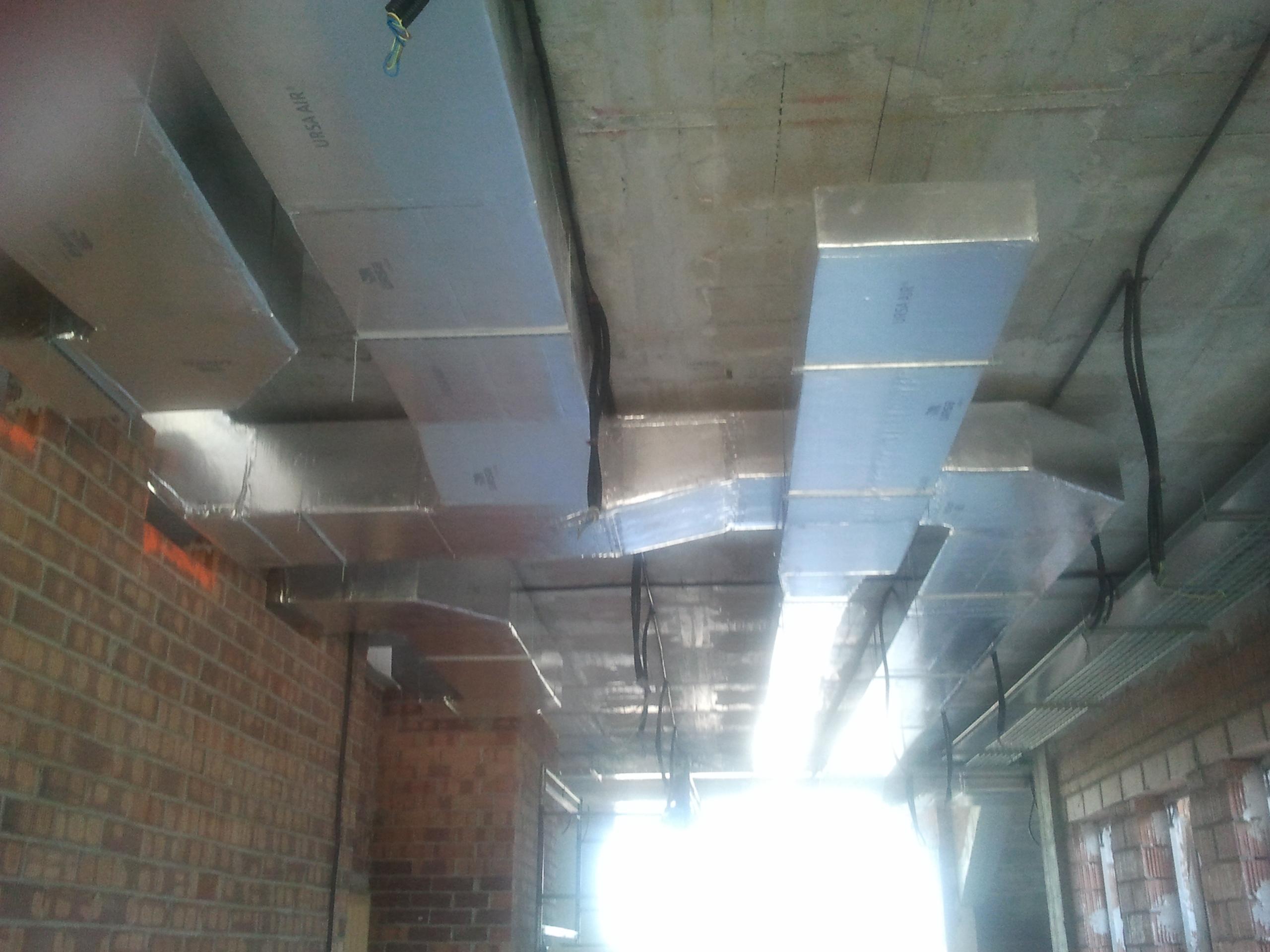 conductos climatización vivero de empresas de La Galera