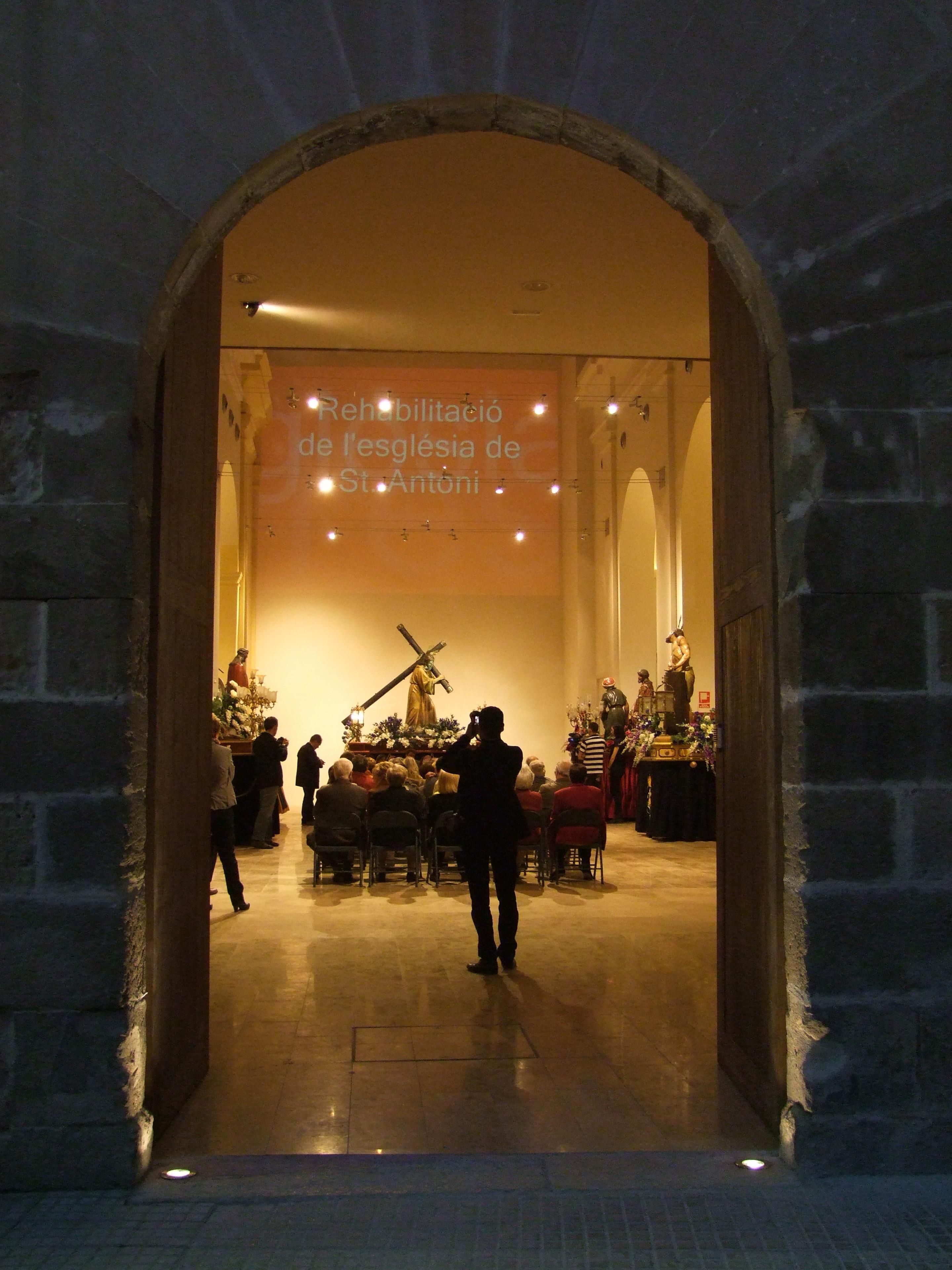 Centro de interpretación iglesia Sant Antoni-Tortosa