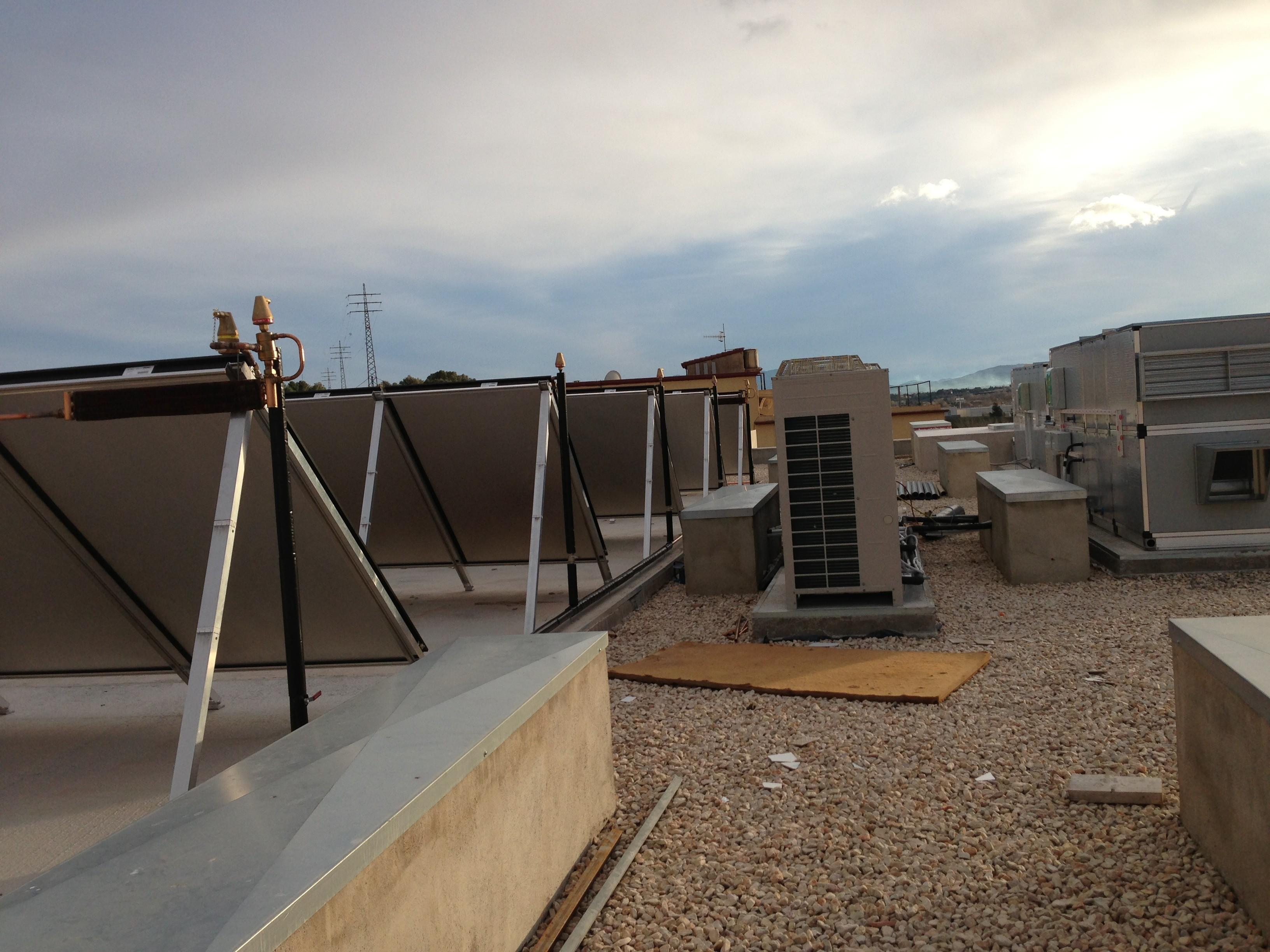 placas solares en la residencia de ancianos Sant Miquel Tortosa