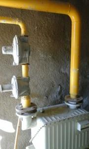 instalación de gas en la residencia Sant Miquel