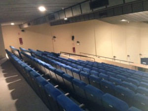 interior del auditorio de La Sénia