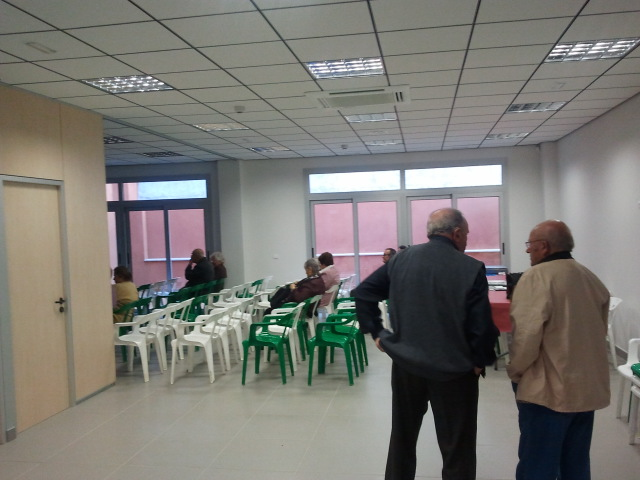 sala del centro de día de Benifallet