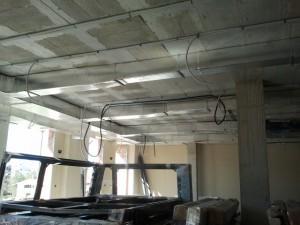 instalación de la sala de actos de la residencia Sant Miquel