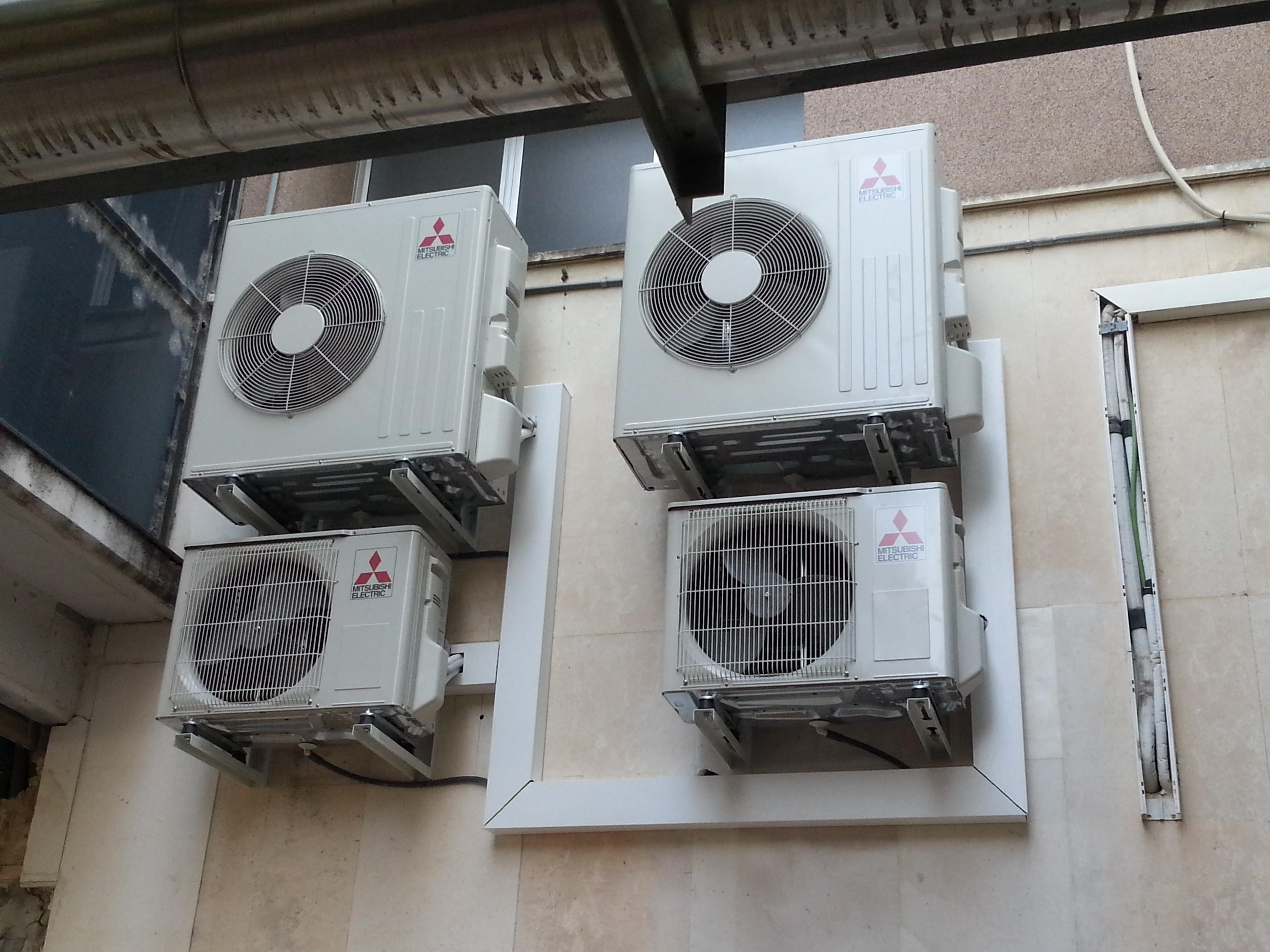 bomba de calor Hospital Verge de la Cinta Tortosa