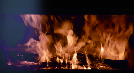 chimenea calefacción