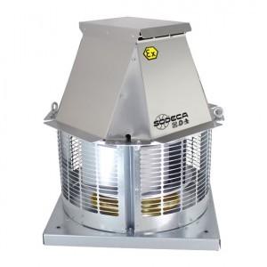 Ventiladores de tejado para salida de humos