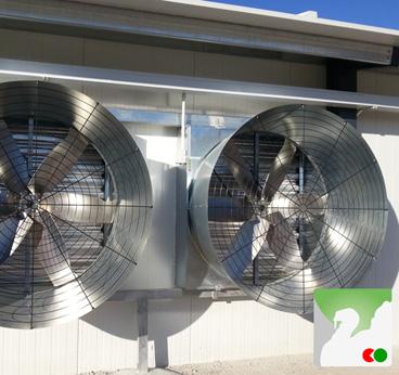 ventiladores para instalaciones avícolas