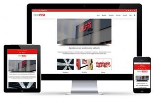 nueva web Calfri responsive