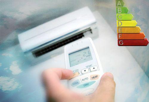 Nueva etiqueta aire acondicionado