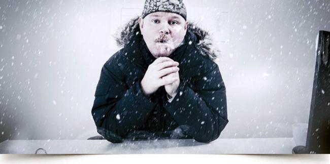 calefacción para no quedarse helado