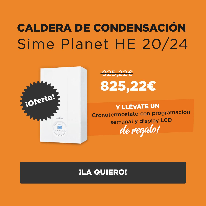 slider responsive oferta caldera Sime Planet Calfri