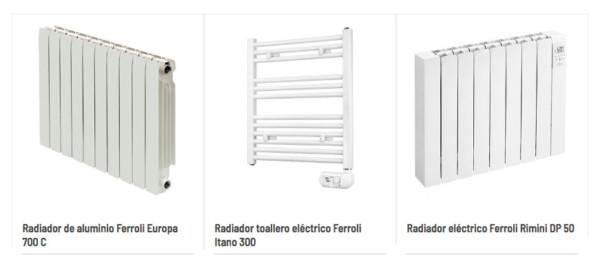 radiadores de calefacción Calfri
