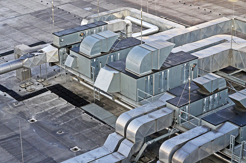 ventilación edificios