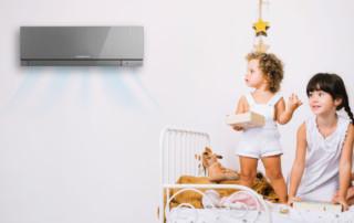 Aire acondicionado y bebés