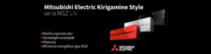 slider Mitsubishi Electric Kirigamine Style