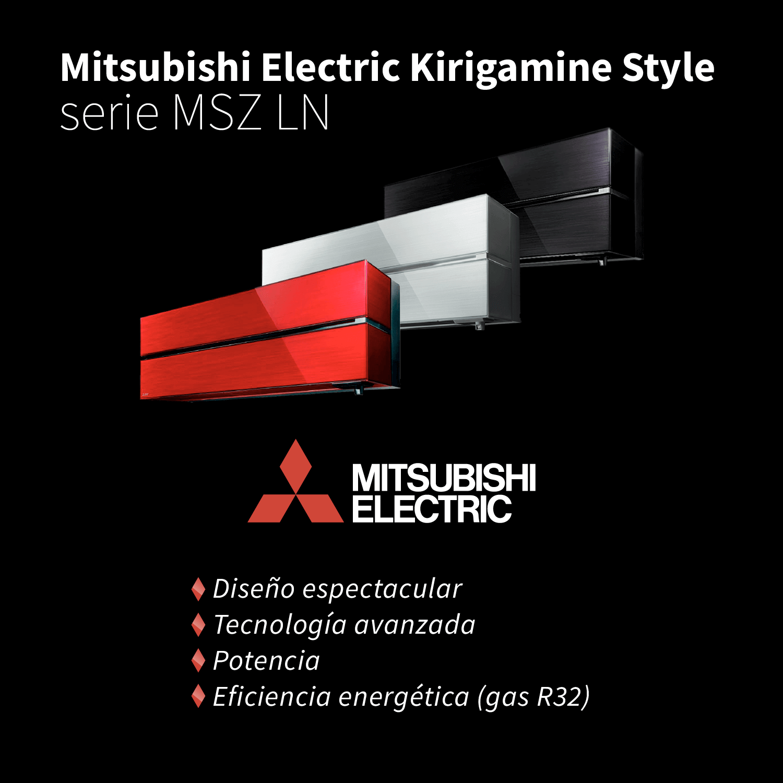 slider responsive Mitsubishi Electric Kirigamine Style