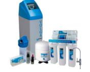 Kit completo tratamiento de agua con decalcificador Volga y osmosis Alpha