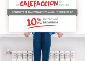 mantenimiento anual de la calefacción Calfri